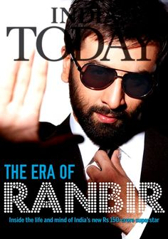 Ranbir Kapoor on India Today #Bollywood #Fashion