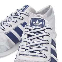 reputable site cd15d e0673 Coming into stock tomorrow !! adidas LA trainers in 3 variants White and  purple,