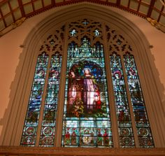 Interactive: story behind 'Light of the World' stained glass at Timothy Eaton Memorial Church