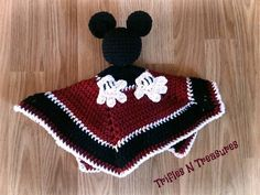 """""""Bring the magic home or on the road! Totally huggable little loveys are great for road trip companions, bedtime cuddling, and comforting your little one.Made in Red Heart Soft yarn for extra huggability! Easy Crochet Hat, Crochet Lovey, Crochet Teddy, Crochet Bebe, Crochet Gifts, Crochet Toys, Crochet Mickey Mouse, Crochet Disney, Boy Crochet Patterns"""