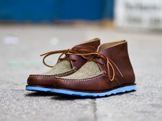 "Mark McNairy for Eastland - ""Made In Maine"" Chukka Boot"