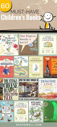 Here are 60+ classic (new and old) books every child should read.