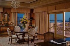 The Ritz-Carlton Suite at The Ritz-Carlton, New Orleans offers expansive views of the French Quarter and Mississippi River.