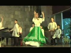 ▶ PANDANGGO RINCONADA : Philippine Christmas Folk Dance from Nabua, Camarines Sur -