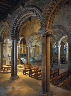 England Travel Inspiration - Galilee Chapel, Durham Cathedral, UK dates from Anglo Saxon times Beautiful Architecture, Beautiful Buildings, Art And Architecture, Durham Cathedral, Cathedral Church, Durham England, England Uk, Durham Castle, Architecture Romane