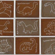 Dinosaur Art Trading Cards