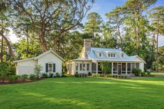 Exquisite South Carolina Farmhouse Evoking A Low Country