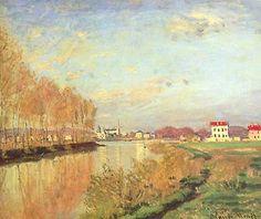 [Claude Monet] La Seine à Argenteuil, 1873