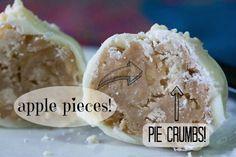 Apple Pie Cake Truffles #MilkBarMonday