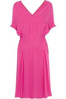 Marni | Washed-silk dress
