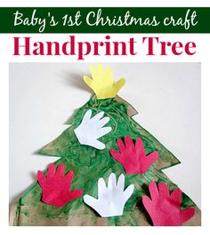 Perfect Christmas craft for babies and toddlers.