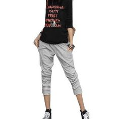 Allegra K Women Drawstring Waist Formfitting Trousers Light Gray M Allegra K. $12.27