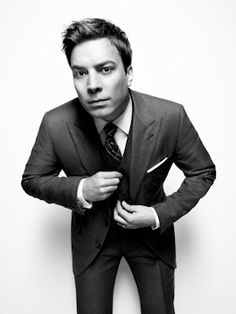 """I just really don't like being the center of attention that much. It's kind of ironic.""    Jimmy Fallon"