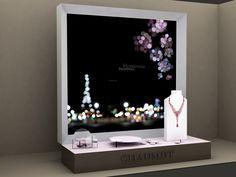 Flavie+Paul Chaumet -Hortensia-  étude boutique Vendôme Pop Design, Display Design, Wall Design, Chaumet, Visual Merchandising Displays, Mom Jewelry, Shop Window Displays, Shop Logo, Kid Friendly Meals