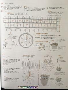 Схемы вязания крючком кактусов и суккулентов (2)