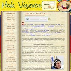 Audiolibros gratuitos 'http://www.holaviajeros.com/' snapped on Snapito! #educaspain
