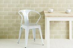 Pumice Brick Tile from The Winchester Tile Company Brick Tiles, Wall Tiles, Contemporary Kitchen Tiles, Conservatory Dining Room, Brick In The Wall, Pumice, Splashback, Color Tile, Living Room Kitchen