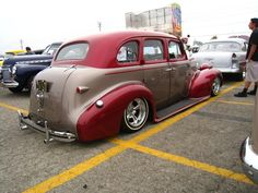 Lowrider cars and trucks from the 20's through the 50's. Chevy Bombs, Buick Bombs, Cadillac Bombs,...
