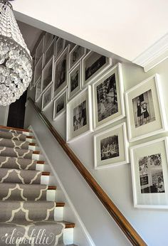 Finally - A Gallery Wall For Our Stairway by Dear Lillie