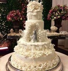 Indescribable Your Wedding Cakes Ideas. Exhilarating Your Wedding Cakes Ideas. Unique Wedding Cakes, Beautiful Wedding Cakes, Wedding Cake Designs, Beautiful Cakes, Dream Wedding, Wedding Scene, Cake Wedding, Trendy Wedding, Luxury Wedding