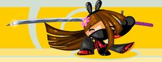 Ninja Girl by ~vancamelot