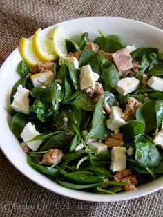 Chia Seeds, Cobb Salad, Quinoa, Green Beans, Potato Salad, Spinach, Good Food, Mac, Potatoes