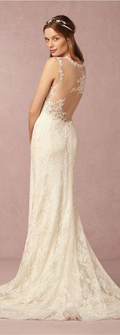 6f16072cec08 BHLDN  Wedding Dress Lace Back Wedding Dress