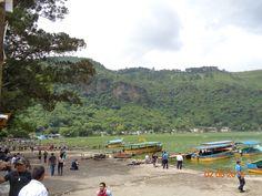 Panorámica desde el muelle de Amatitlán 2