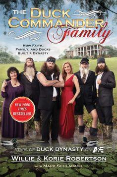 The Duck Commander Family: How Faith, Family, and Ducks Built a Dynasty  ($9.68) http://www.amazon.com/The-Duck-Commander-Family-How-Faith-Family-and-Ducks-Built-a-Dynasty/dp/B00818IW08%3FSubscriptionId%3D%26tag%3Dhpb4-20%26linkCode%3Dxm2%26camp%3D1789%26creative%3D390957%26creativeASIN%3DB00818IW08&rpid=iv1391717529/The_Duck_Commander_Family_How_Faith_Family_and_Ducks_Built_a_Dynasty