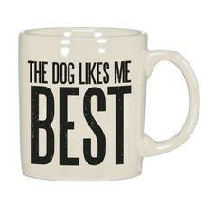Dog Likes Me Mug - Pulp & Circumstance