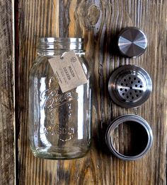 Mason Jar Cocktail Shaker | Home Dining & Barware | The Mason Shaker | Scoutmob Shoppe | Product Detail