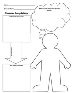 Character Analysis Graphic Organizer and Notebooking Page   using         Character Analysis  Leveled Graphic Organizers for Differentiated  Reading Instruction  Grades
