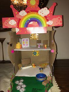 Kartondan bebek evi