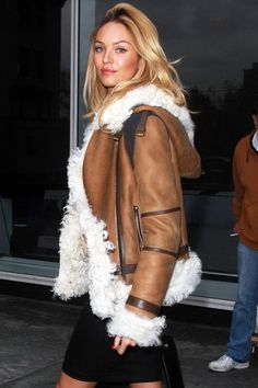 Candice Swanepoel | off the runway | fashion | the coat