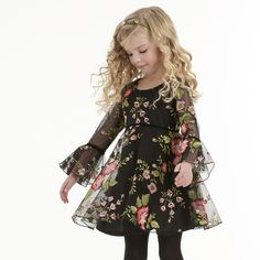 This sweet dress by Biscotti is a timeless classic! Embroidered flowers add a pop of color, while twirly skirt is girly & sweet. Free US shipping on $50 + 15% down layaway plans with code MLJPaymentPlan