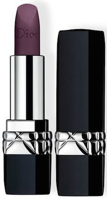 Rouge Dior Lipstick in 962 Poison Matte is a beautiful way to wear a dark lip!
