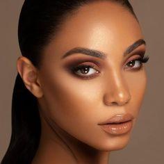 Brown Makeup Looks, Neutral Makeup Look, Brown Skin Makeup, Brown Smokey Eye Makeup, Natural Smokey Eye, Glam Makeup Look, Light Makeup Looks, Soft Eye Makeup, Natural Brown Eye Makeup