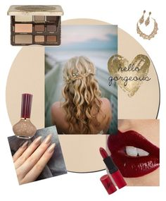 """""""hello gorgeous"""" by chanlee-luv ❤ liked on Polyvore featuring beauty, Charlotte Tilbury, Kate Spade, Jose & Maria Barrera, Rimmel, Too Faced Cosmetics, Paul & Joe Beaute and Oliver Gal Artist Co."""