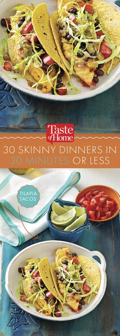 30 Skinny Dinners in 30 Minutes or Less (from Taste of Home)