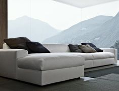 the most comfortable sofa in the world | ... to be the most comfortable couch in the world. Dune Sofa by Poliform