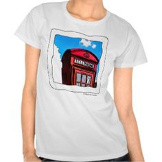This T-shirt is super cool, is colour white, is for girls and has the imagen of a telephone from London,Ingland, the cots is L130