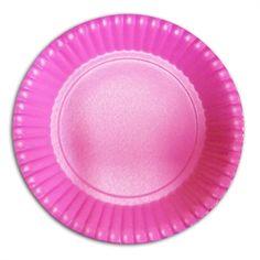 Prato Descartável Pink 15,5cm http://www.tozaki.com.br/produto/5095/prato+descartavel+pink+155cm+-+10un+-+kid+art