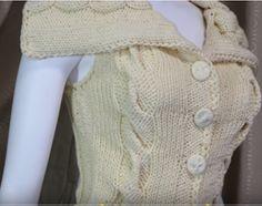 Delicadezas en crochet Gabriela: Chalecos