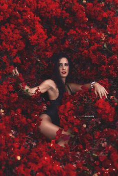 Lorena & flowers - Wonderfull photoshooting with a beauty model...