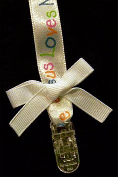 Free Pacifier Clip Instructions: hairbow free directions, hair bow business work at home