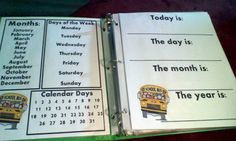 A Busy Binder for learning the basics and perfect for traveling with!