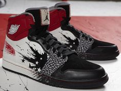 hot sales 24c5f a3544 Air Jordan 1 High  Dave White  Jordan 1, Michael Jordan, Jordan Retro