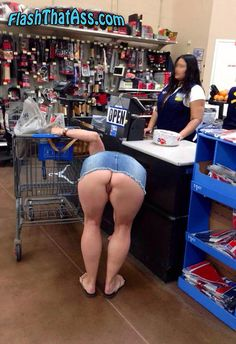 asian women in walmart