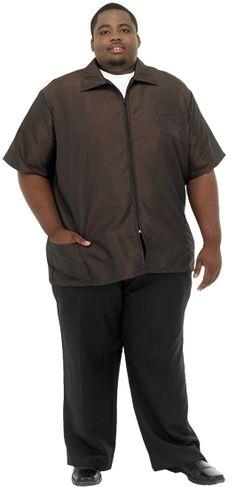 barber jacket plus size