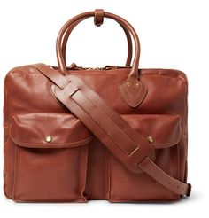 RRL - Leather Holdall (affiliate) #christmasgift #christmaspresent #christmas #christmasgiftguide #forhim #men #fashion #mensfashion #luxury #luxurygift #leather #bag #bags #holdall